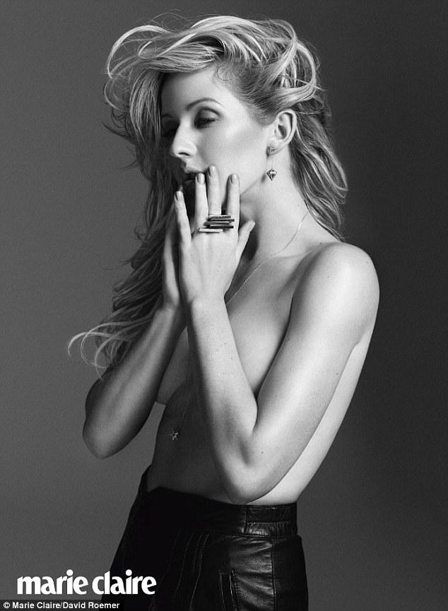Goulding nackt sex ellie Ellie Goulding